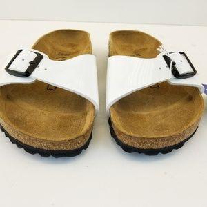 Birkenstock Madrid Womens Sandal 40 260   White